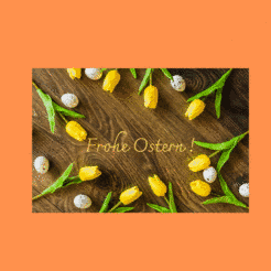 Frohe Ostern!…